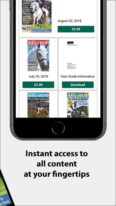Screenshot for Horse & Hound Magazine INT in United Arab Emirates App Store