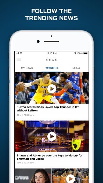 FOX Sports: Watch Live screenshot three