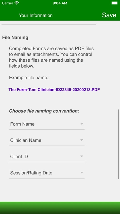 Therapist Forms screenshot-5
