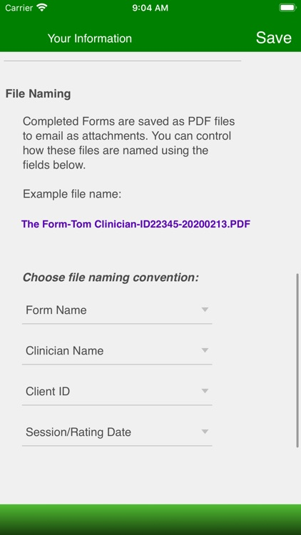 Therapist Forms screenshot-5