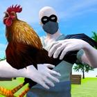鶏の泥棒野生の鶏の実行 icon
