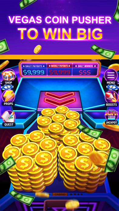 Cash Dozer Lucky Coin Pusher By Chivalry Studio Ios United States Searchman App Data Information
