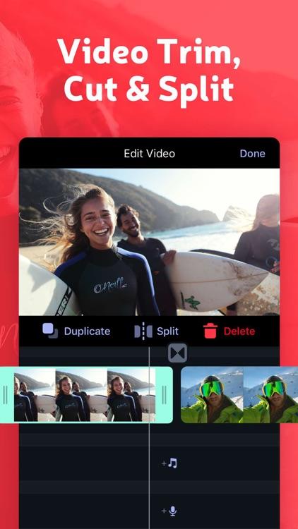 Trim and Cut Video Editor Pro screenshot-0