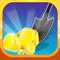 App Icon for Gold Rush 3D! App in Azerbaijan App Store