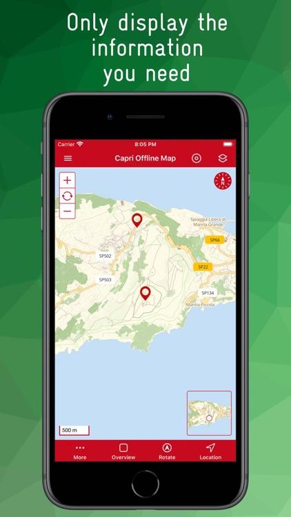 Capri Offline Map screenshot-3