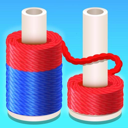 Rope Sort 3D