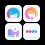 Lightricks Social Media Kit - Selfie Photo & Video Editor, Filters & Story Maker