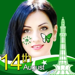 14 August Pak Flag Face Maker