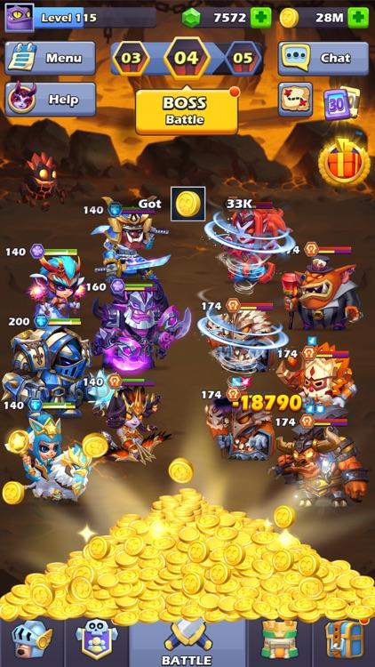 Taptap Heroes - Idle RPG screenshot-6