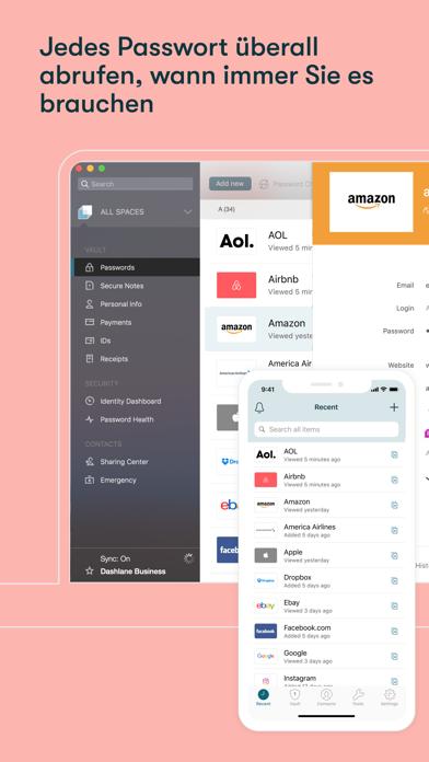 Dashlane – Passwort-ManagerScreenshot von 2