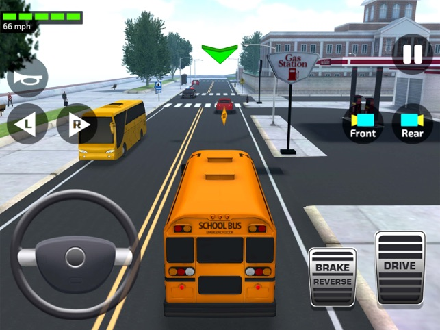 bus driving games