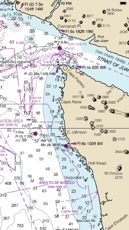 NOAA Nautical Charts & Map screenshot-6
