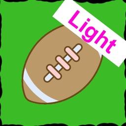 Football trading cards Light