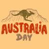 Kai Huei Leow - Australia Day Live Stickers  artwork