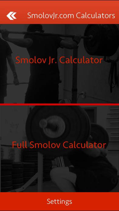 Smolov Squat Calculatorのおすすめ画像1