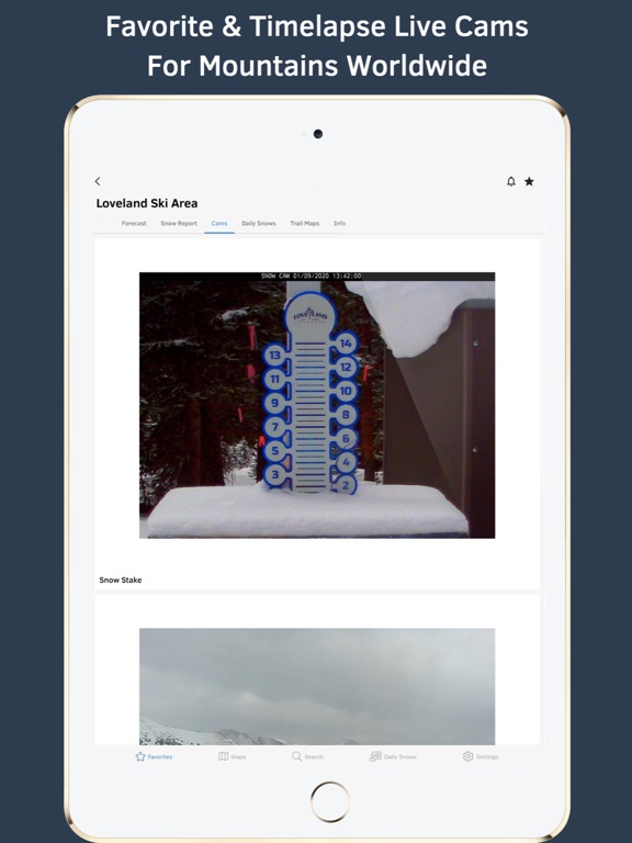 OpenSnow Ski Forecasts & Reports screenshot