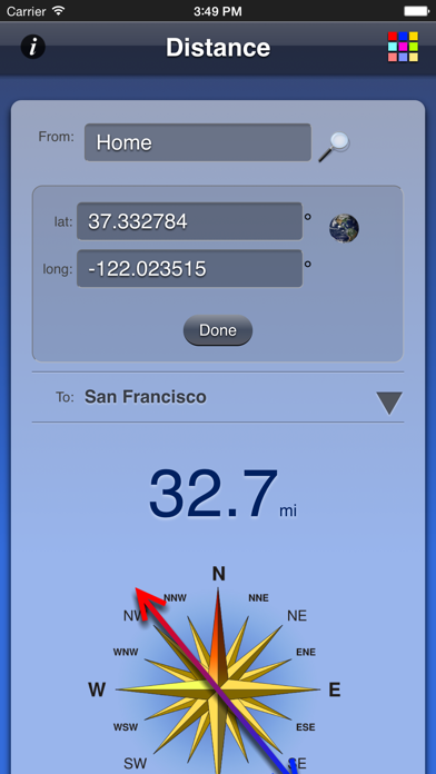 Screenshot for Distance App in Egypt App Store