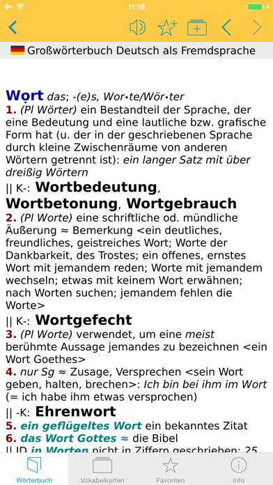 DaF Wörterbuch Deutsch-Deutschのおすすめ画像5
