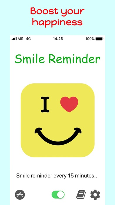 Screenshot for Smile Reminder - Happier Mind in United States App Store