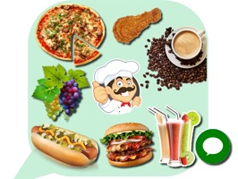 This Food Stickers app includes a lot of colorful Food emoji art collections