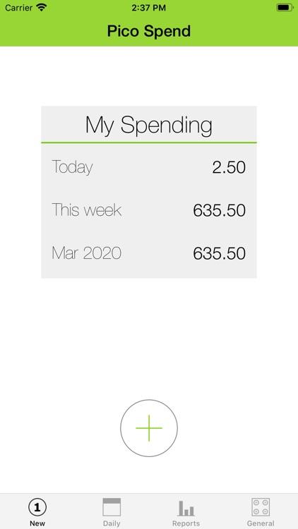 Pico Spend - Expense Tracker screenshot-7