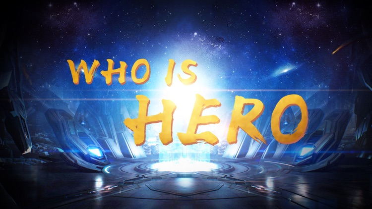 Who is hero-Back view