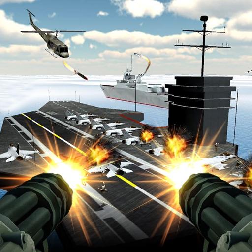 Navy Gunship Fighting War 3D
