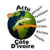 Actu Côte d'ivoire, Afrique - iPhoneアプリ