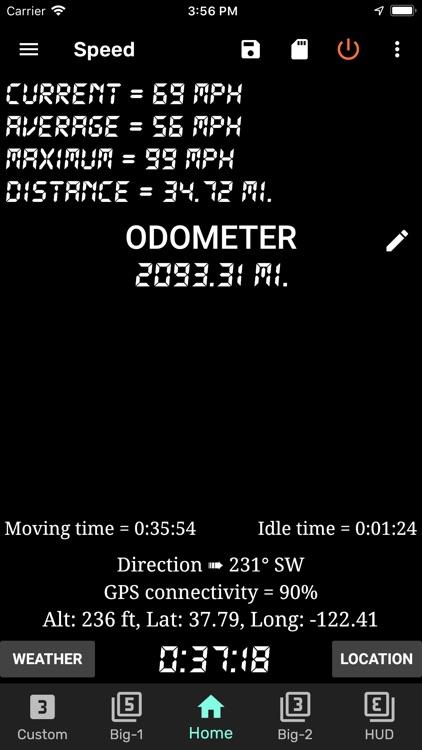 GPS Speedometer and Odometer screenshot-8