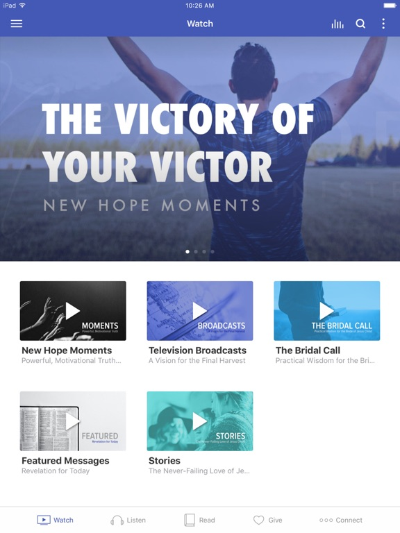 Screenshot #1 for New Hope Revival Ministries