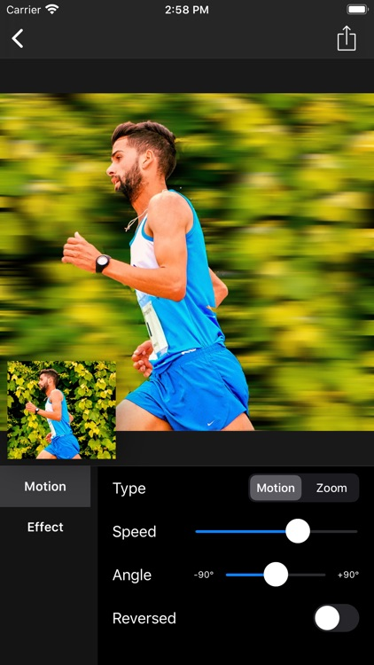 Motion Blur - Panning Photo screenshot-3