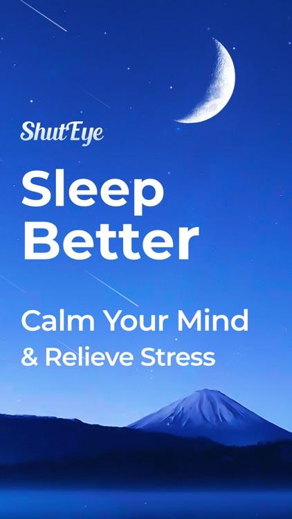 Sleep Sounds, Tracker: ShutEye