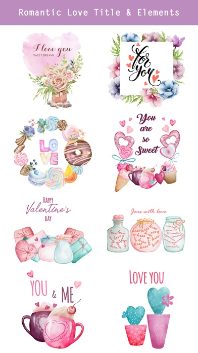 Fairytale Love Stickers app image