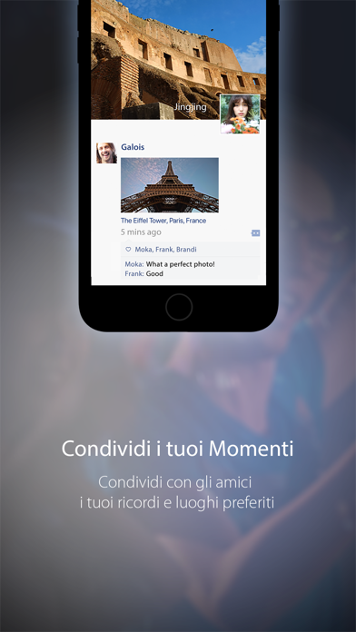 Screenshot for WeChat in Italy App Store