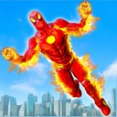 Captain Spider Hero Flying