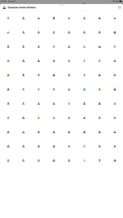 Character Avatar Stickers Screenshot 1