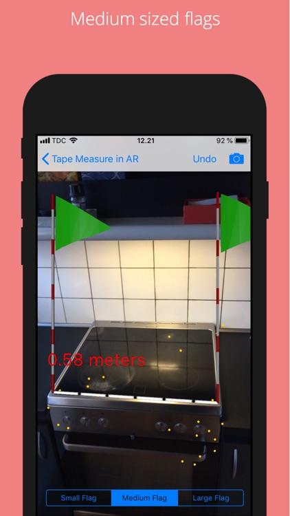 Tape Measure in AR screenshot-4