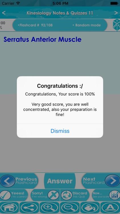 Kinesiology Exam Review App screenshot-4