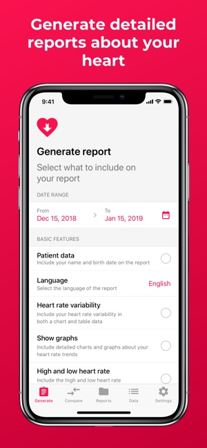 Heart Reports On The App Store
