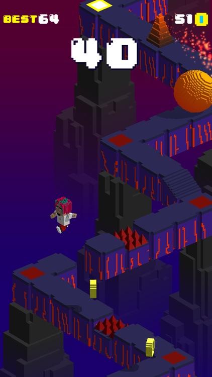 Blocky Gang Run Of The Tomb screenshot-3