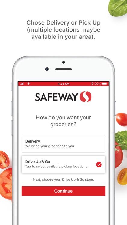 Safeway: Grocery Deliveries screenshot-4