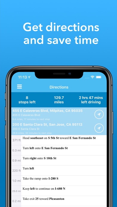 Route - Delivery Planner på PC