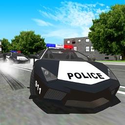 Police Driver Car Stunt