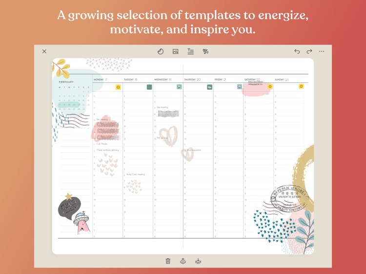 Zinnia Journal & Planner screenshot-9