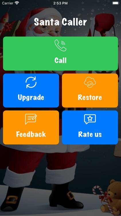 Santa Calling app - Calls you. screenshot-3