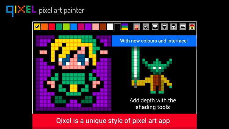 QIXEL - Pixel Art Maker screenshot-0