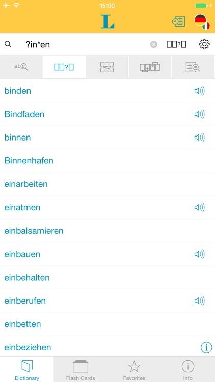 Big German Italian Dictionary screenshot-3