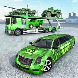 Army Truck - Cargo Car Drive