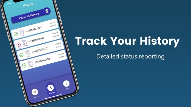 eFax: Send Fax from iPhone screenshot-3