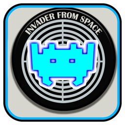 Invader From Space Retro 80s